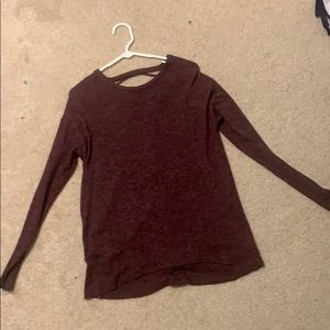 Soft & Sexy American Eagle Maroon Sweater